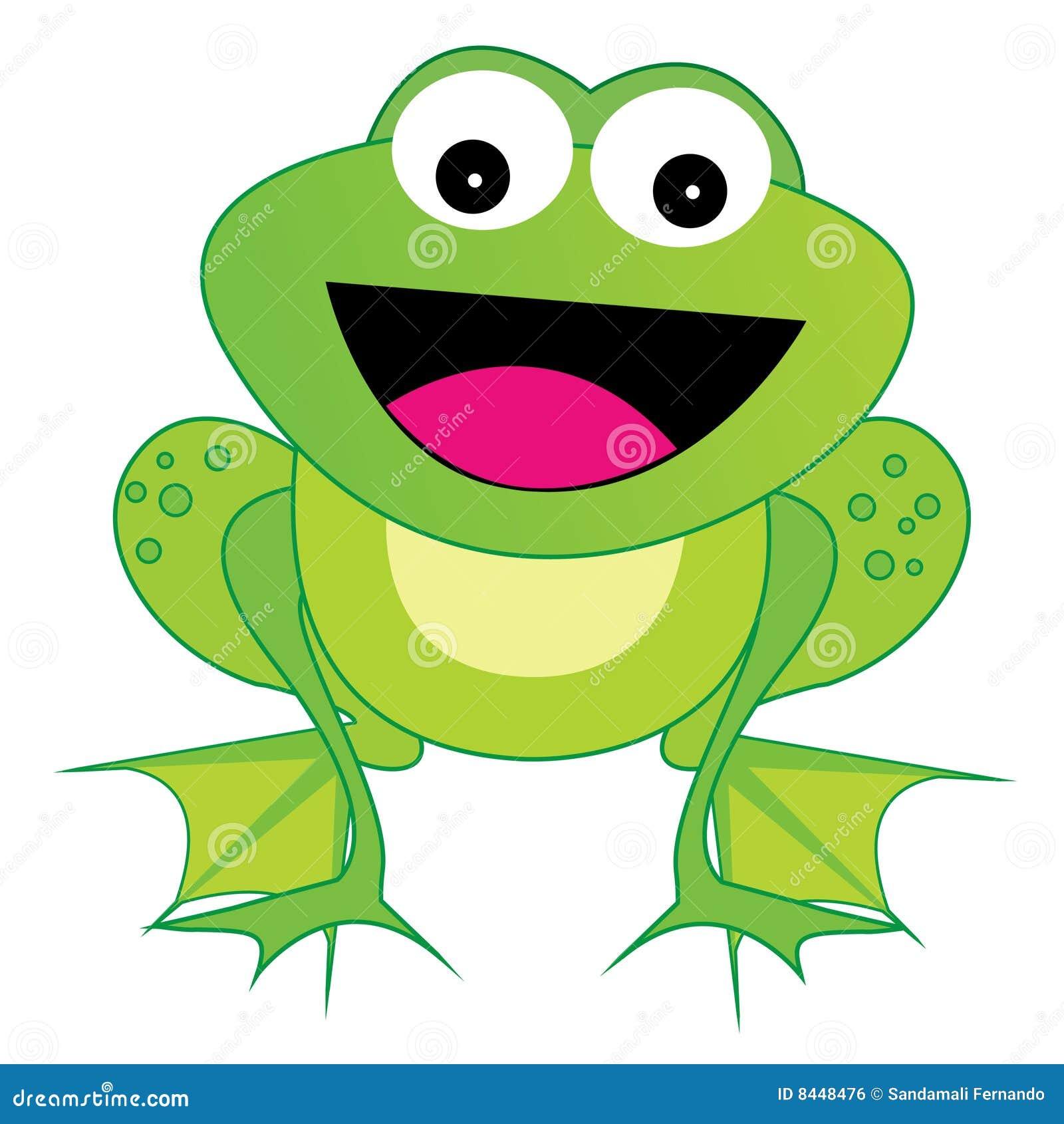Vecteur de grenouille d ENV