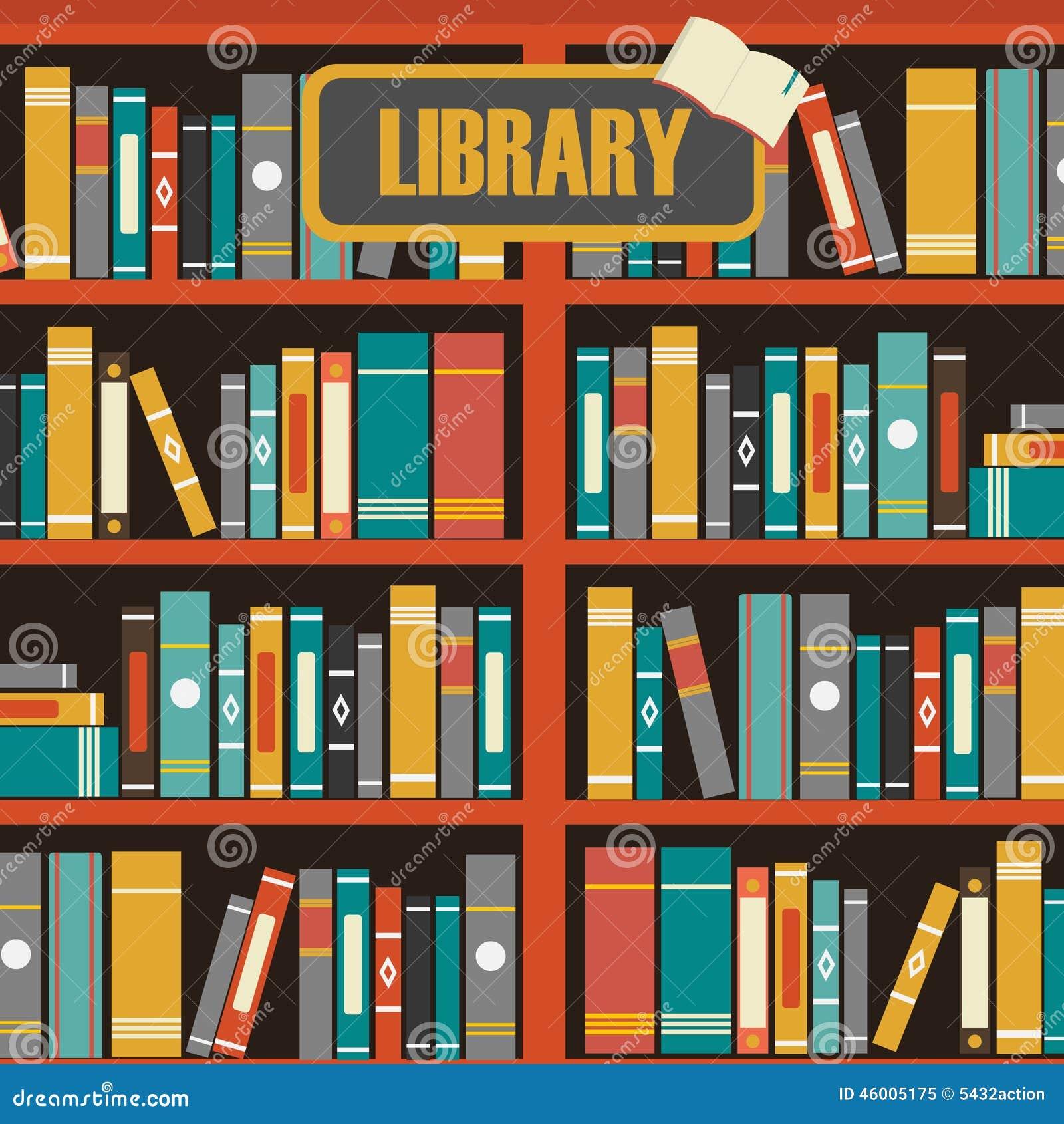 vecteur des tag res livres de biblioth que illustration de vecteur illustration 46005175. Black Bedroom Furniture Sets. Home Design Ideas