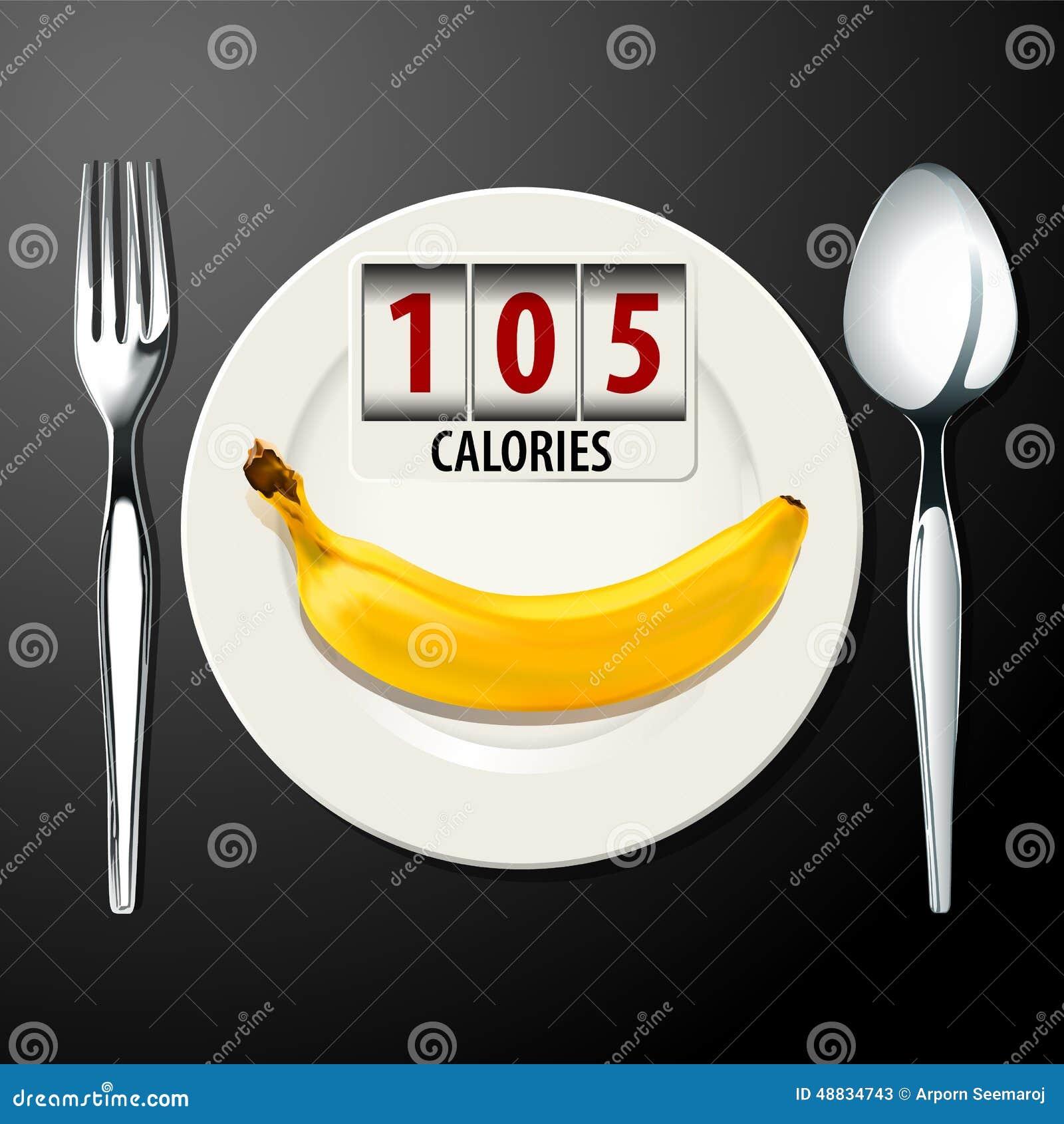 vecteur des calories dans la banane illustration de vecteur illustration du tiquette num ros. Black Bedroom Furniture Sets. Home Design Ideas