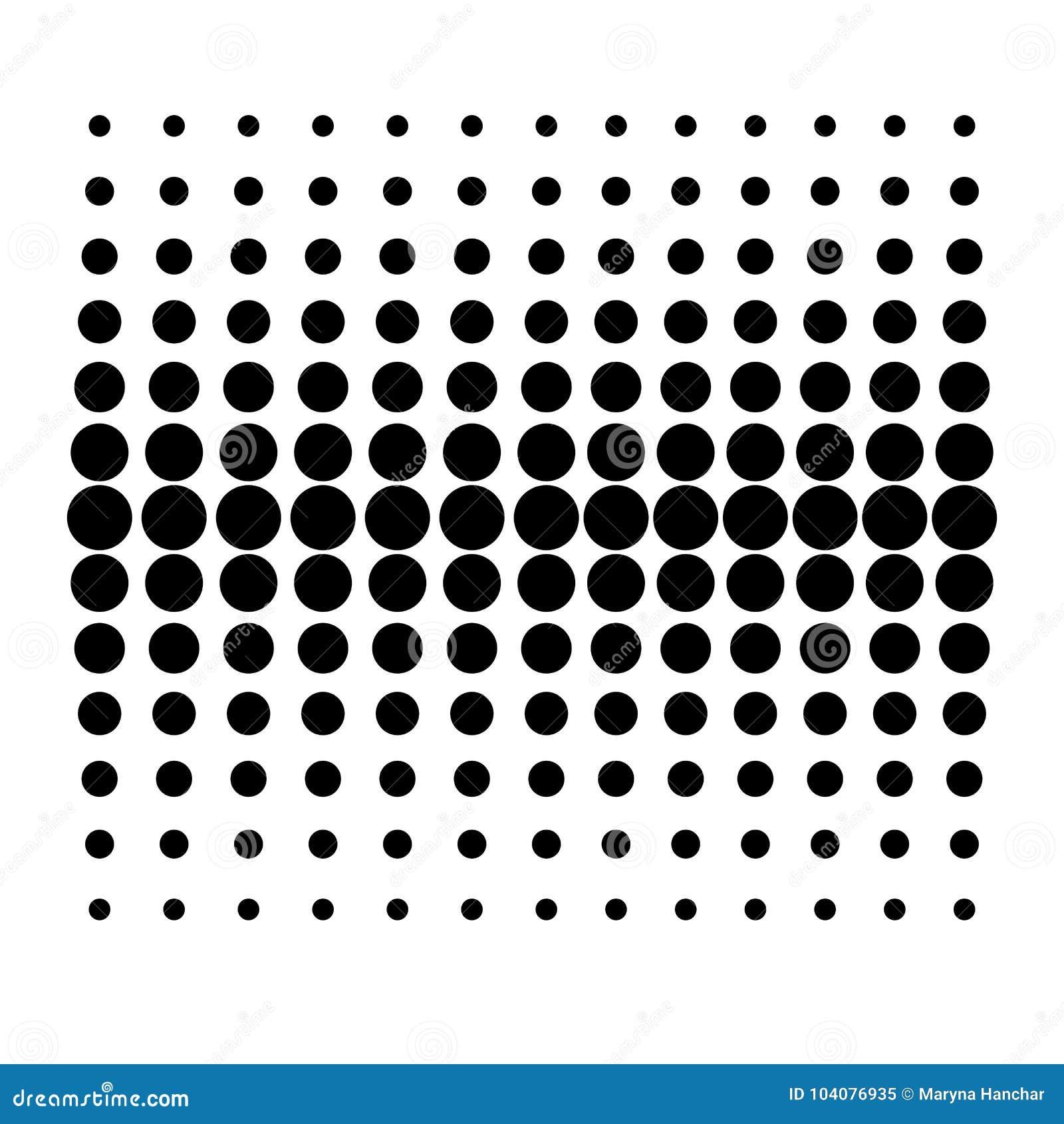 Vecteur Dot Pattern sur le fond blanc