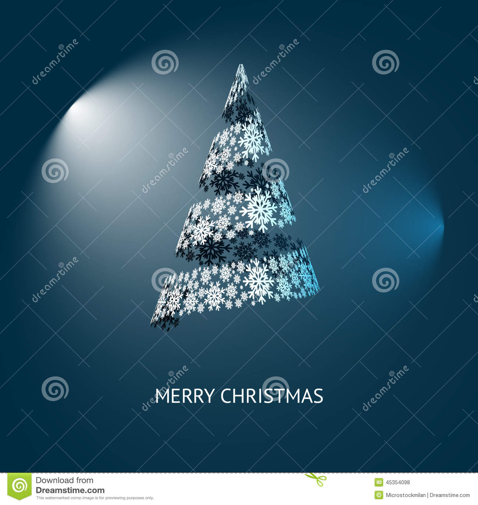 Vecteur inclus d arbre de Noël eps8