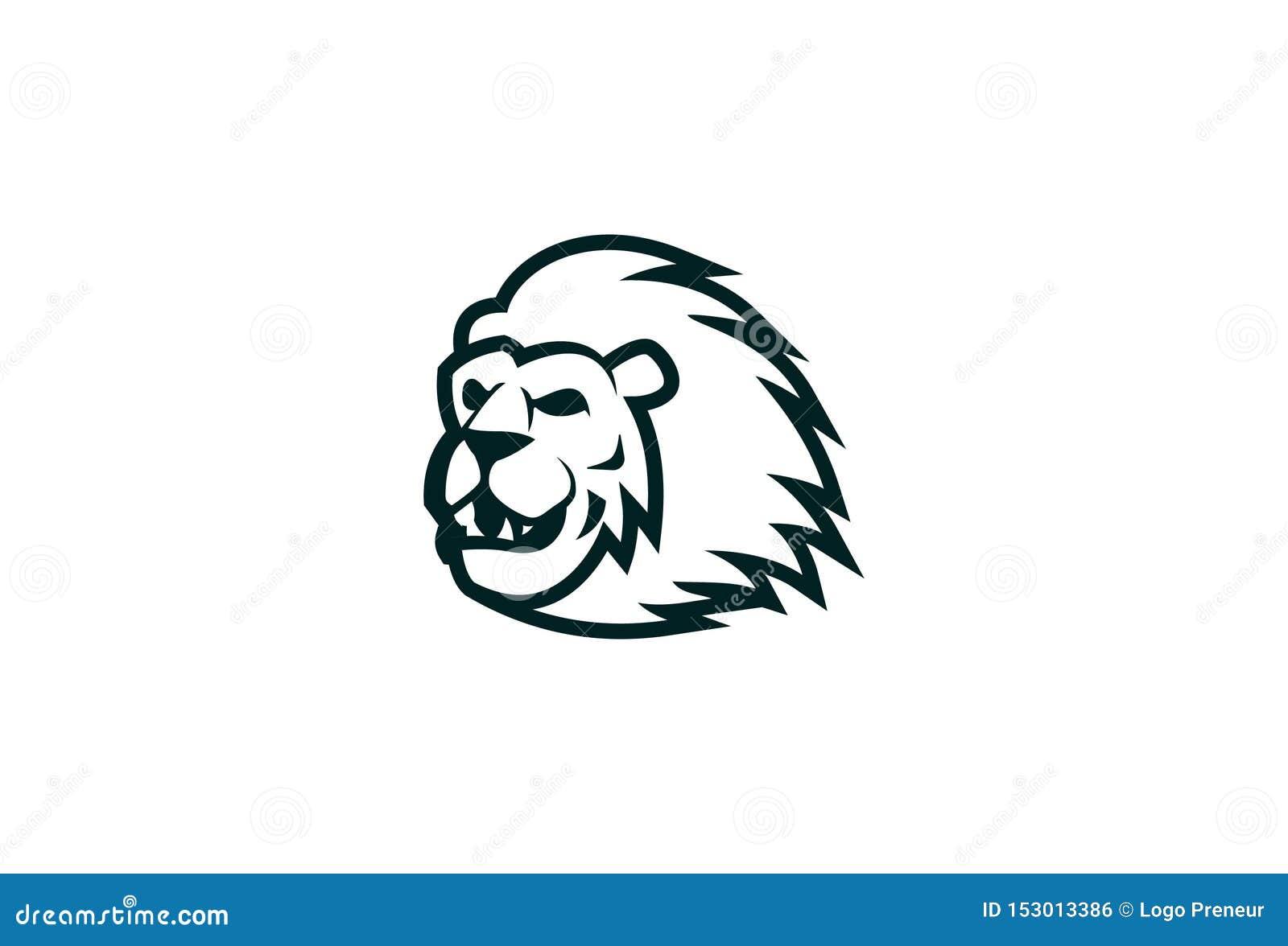 Vecteur Lion Logo Design