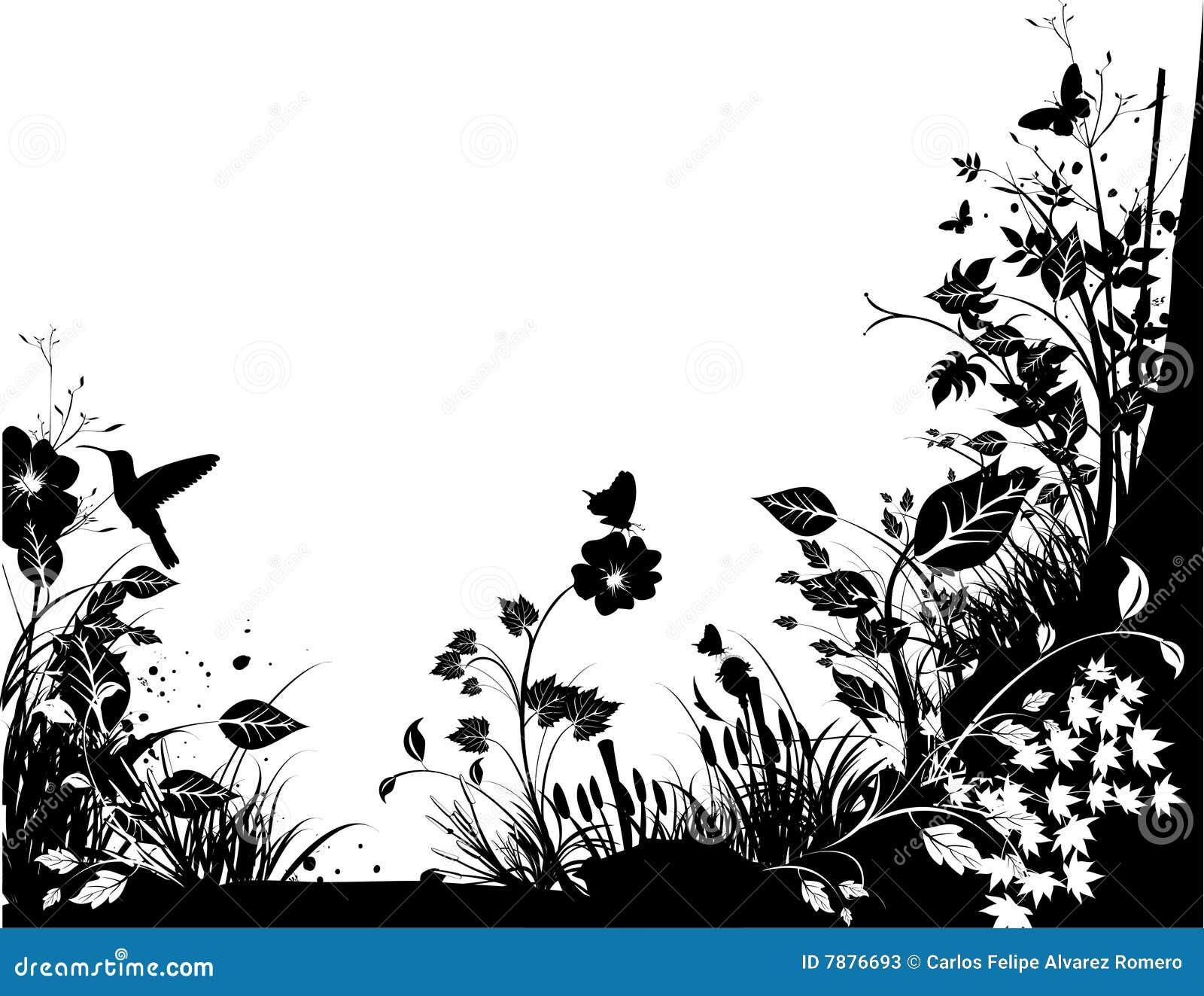 vecteur noir et blanc de nature illustration de vecteur illustration du nature type 7876693. Black Bedroom Furniture Sets. Home Design Ideas