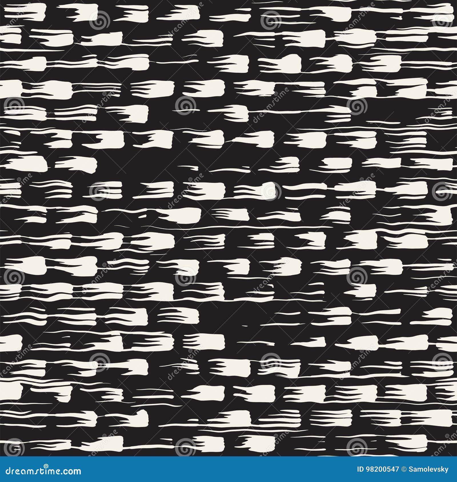 Download Vector безшовная картина с нашивками и ходами щетки Иллюстрация вектора - иллюстрации насчитывающей backhoe, элемент: 98200547