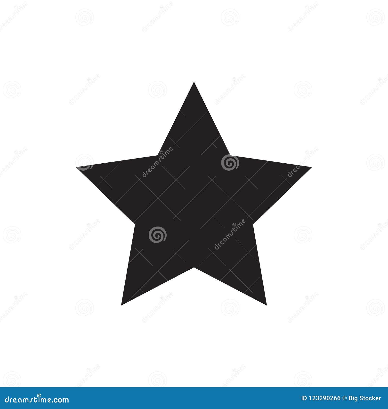 Vector звезда зеленого стекла Любимый символ Самый лучший элемент вектора изолированный на белой предпосылке