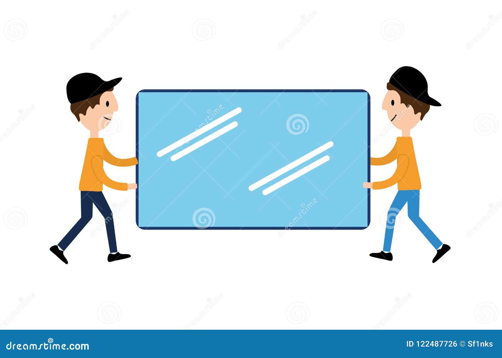 Vector плоские иллюстрации, онлайн покупки, приобретение и продавать, знамя, представление, социальные средства массовой информац