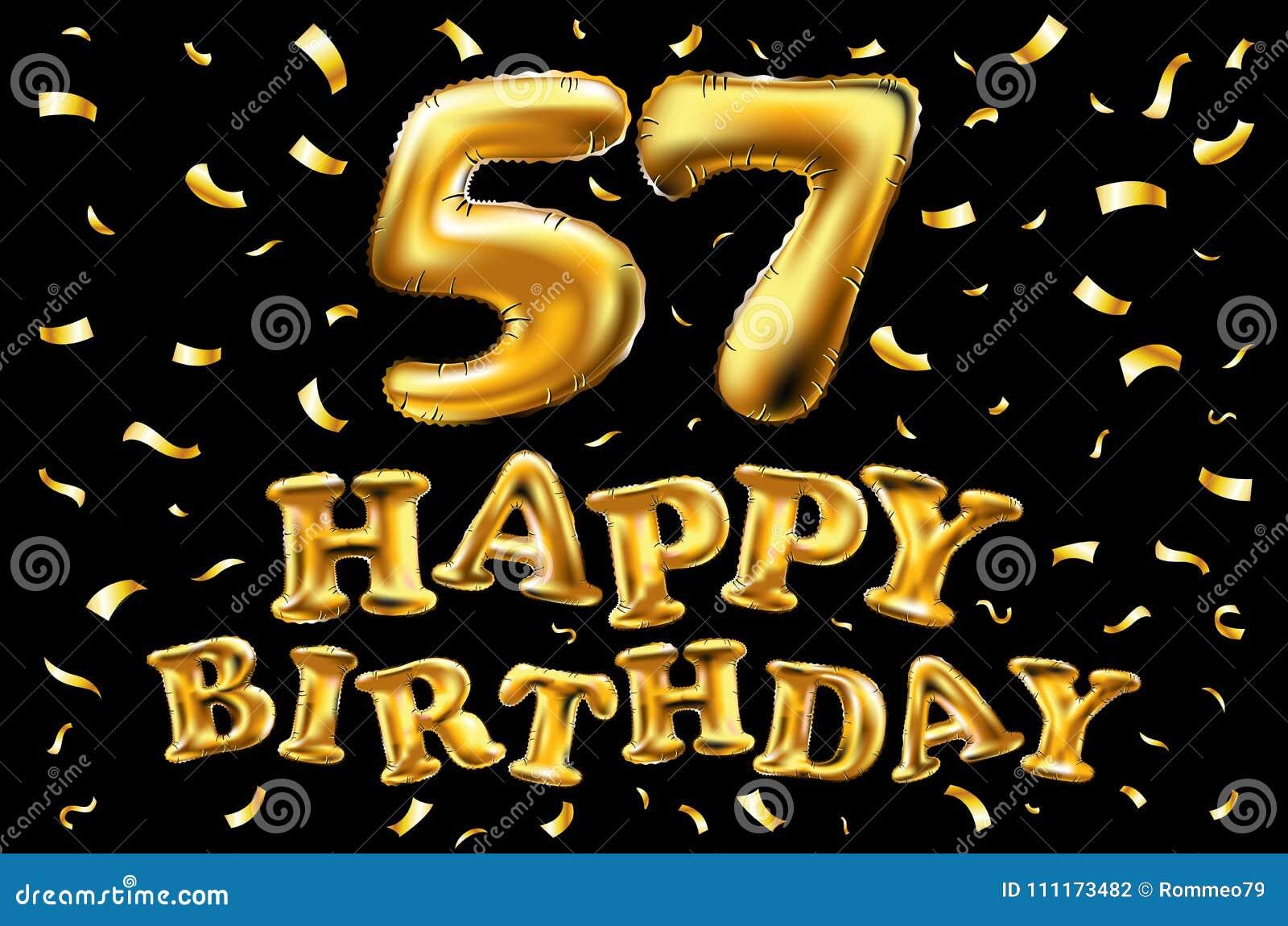 Поздравление с 57 летием женщину
