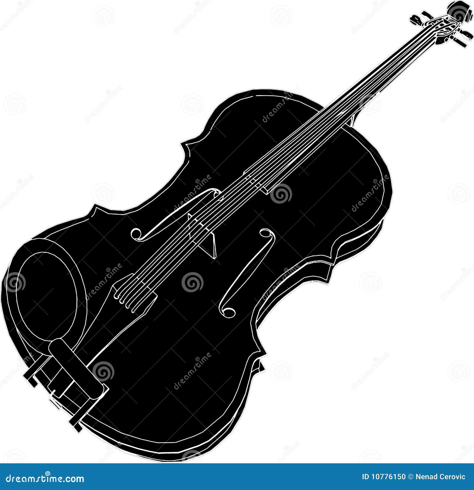 Vector 01 van de viool