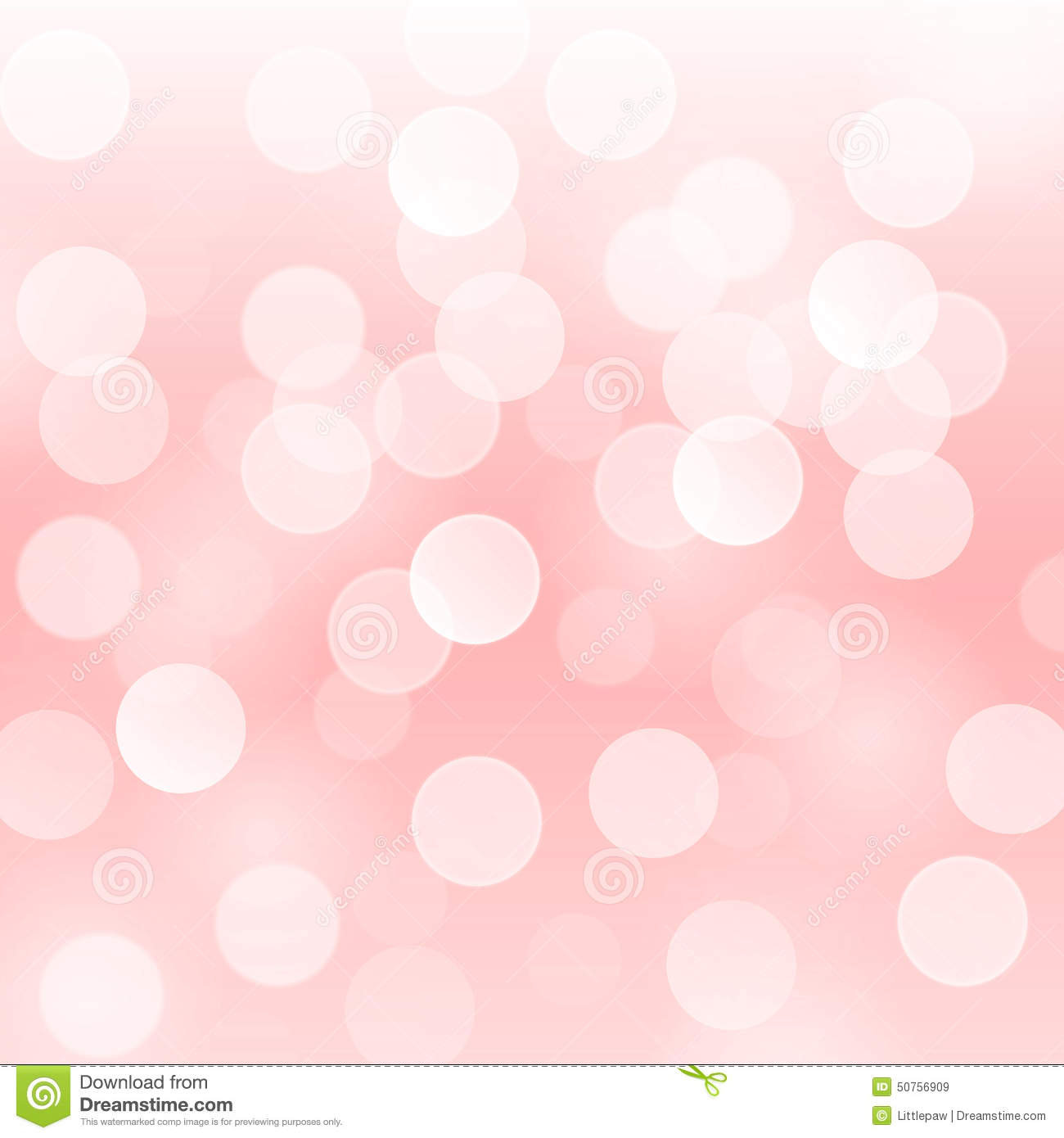 Vector Abstract Background With Blurred Defocused Light