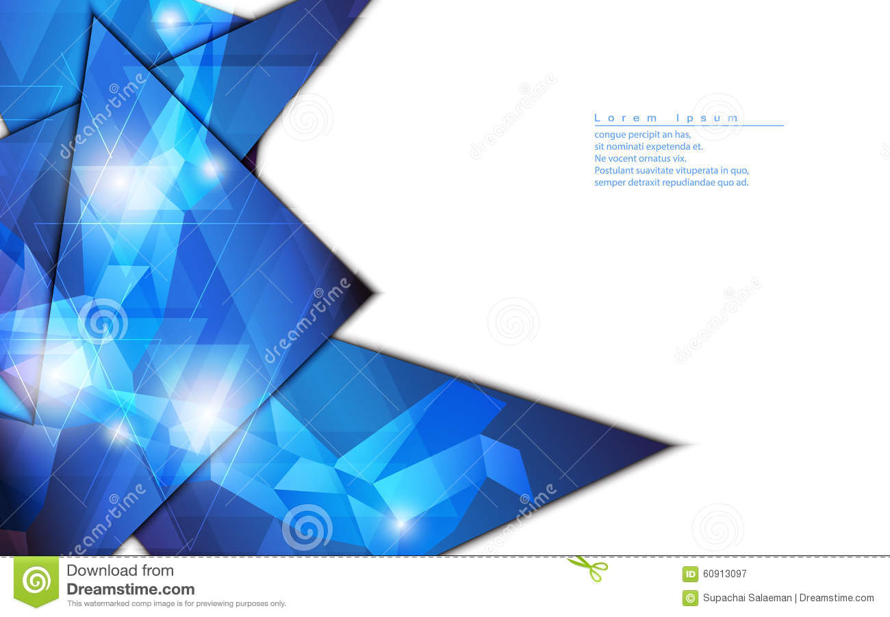 vector abstract background geometric shape template design hi tech