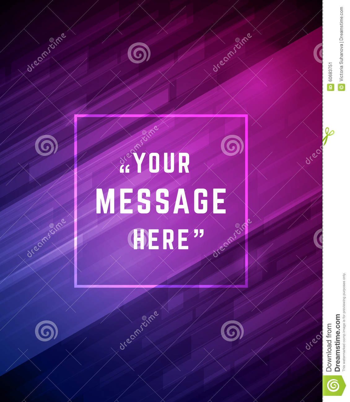 Vector abstract background and place for Quote