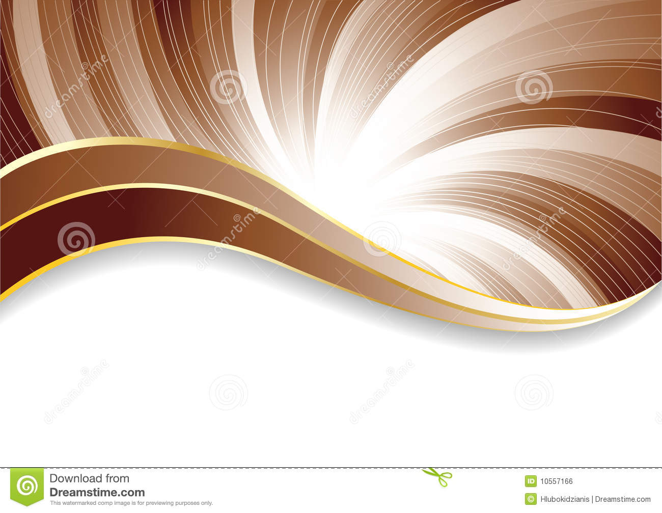 Vector Abstract Chocolate Background Royalty Free Stock