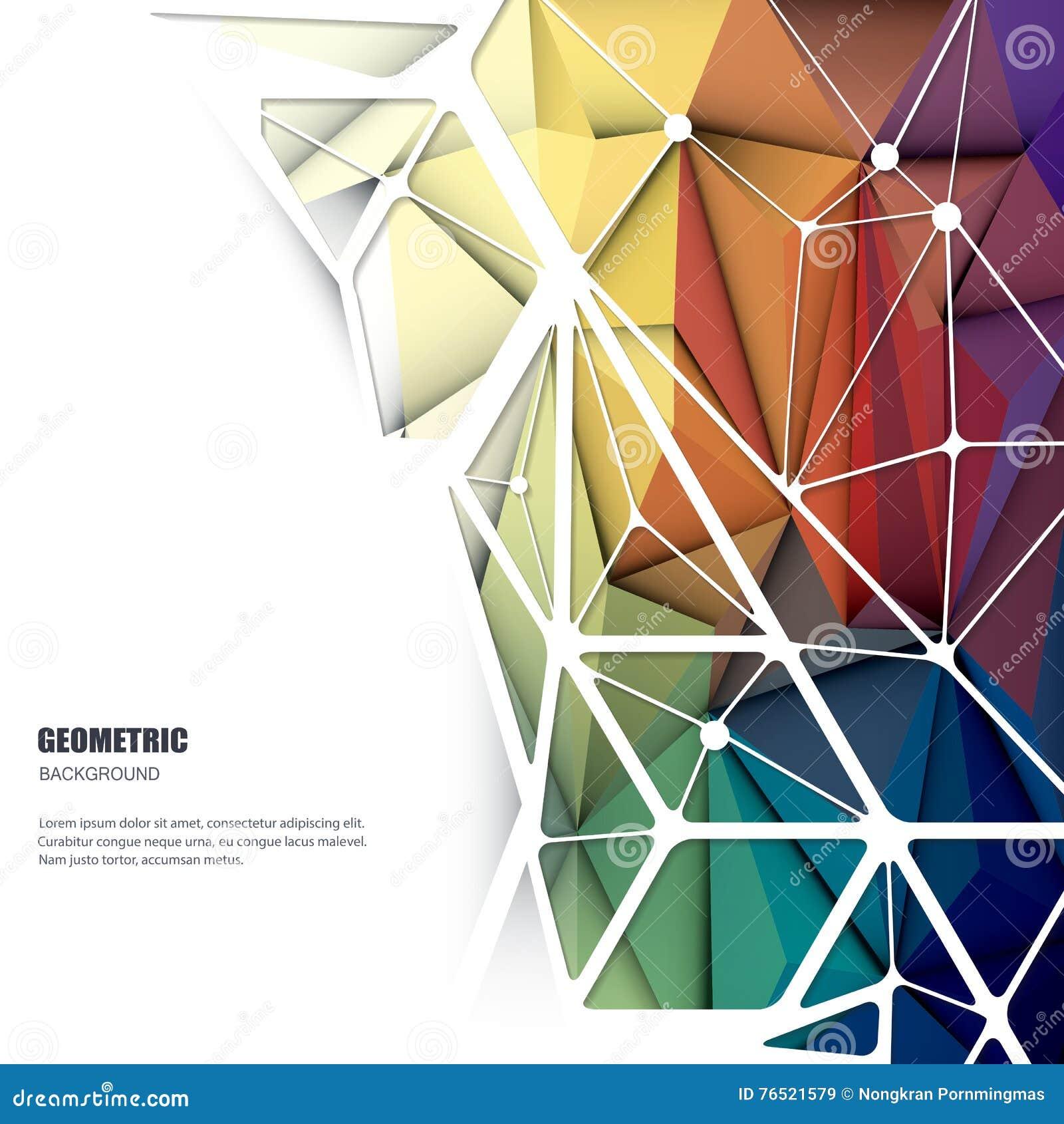 geometric yellow background illustration - photo #41