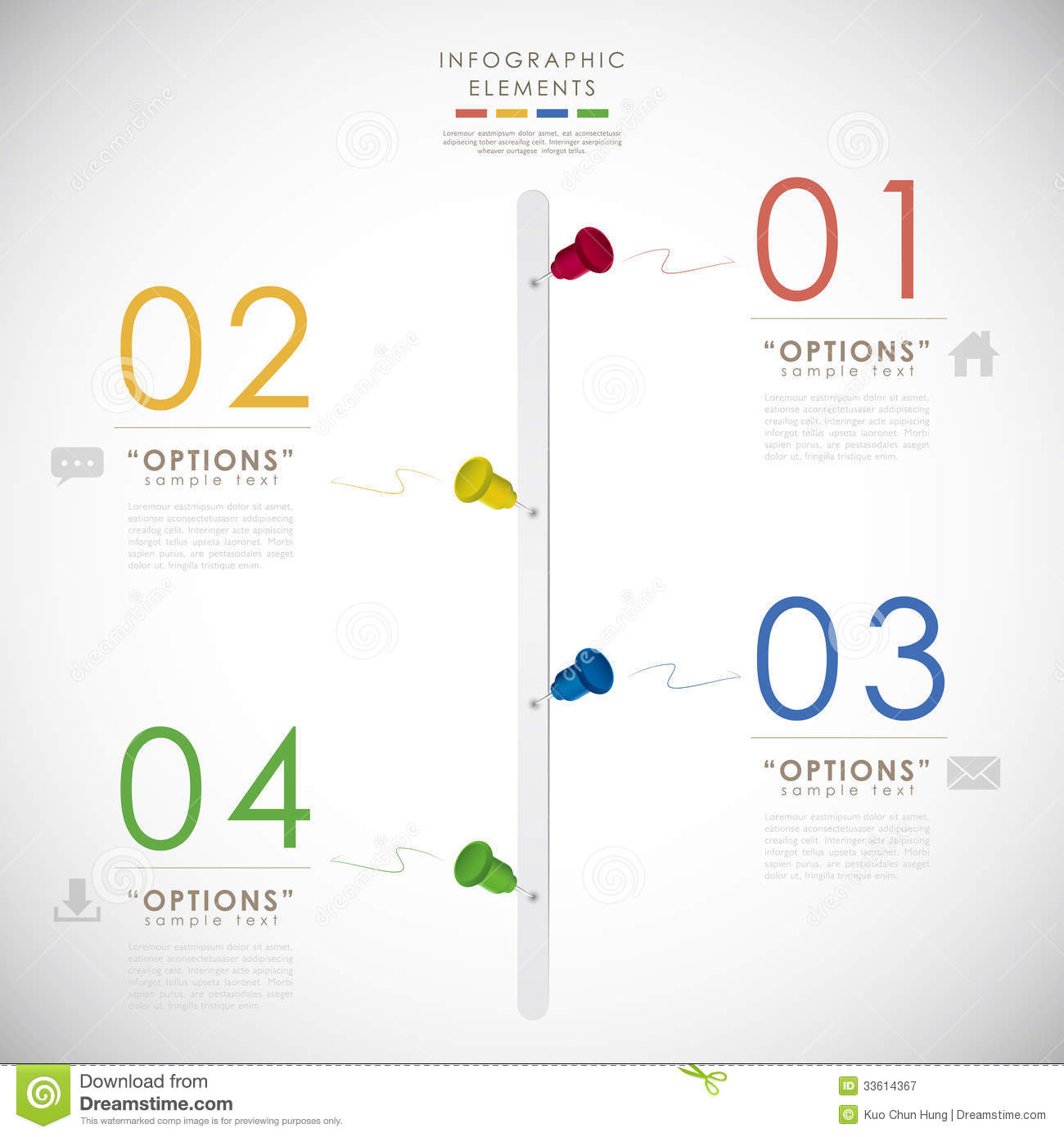 Vector Abstract 3d Timeline Infographics Royalty Free Stock ...