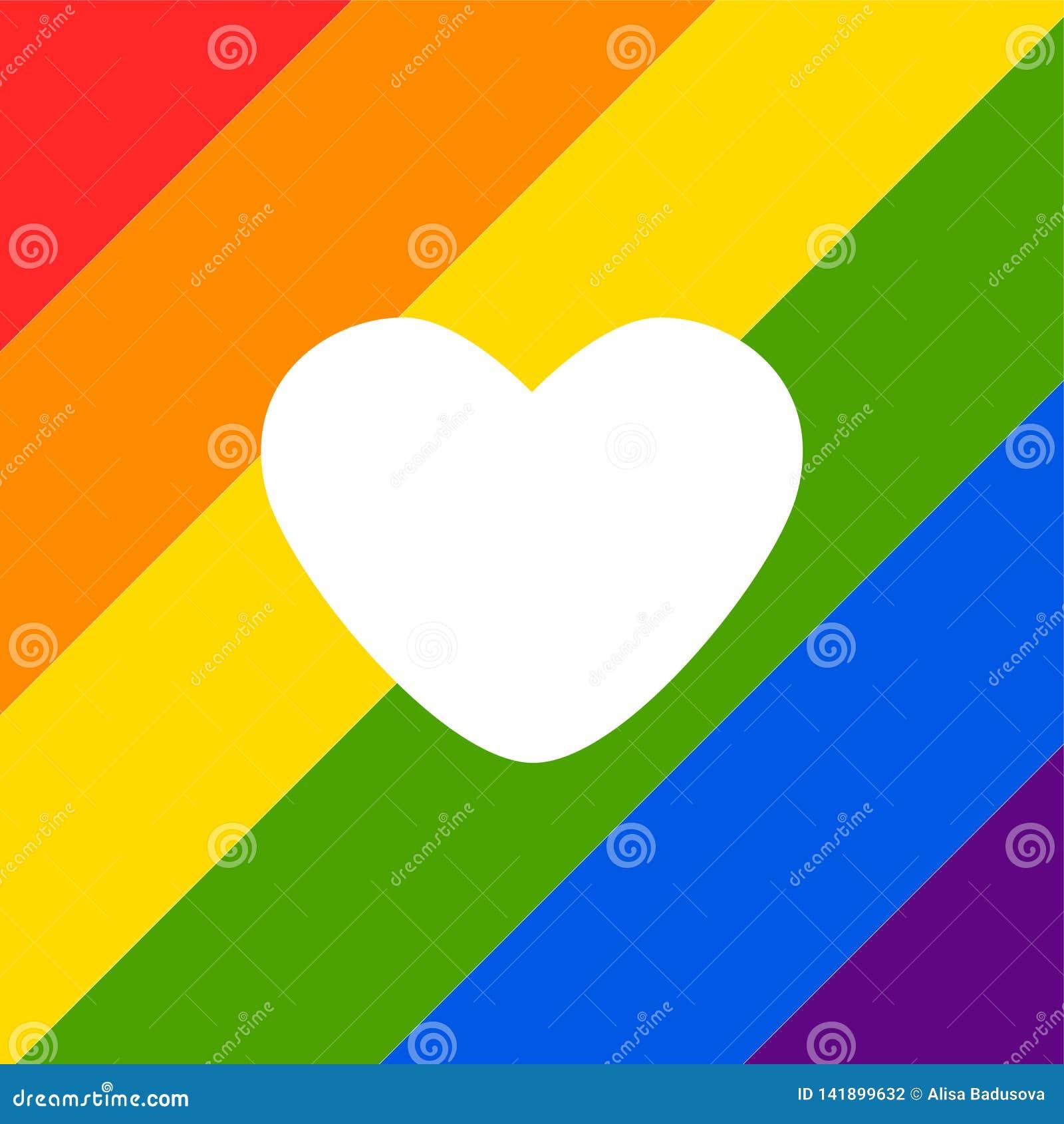 Vector abstract doodles pattern. Hand drawn heart pride, love, peace with rainbow. Gay parade slogan. LGBT rights symbol