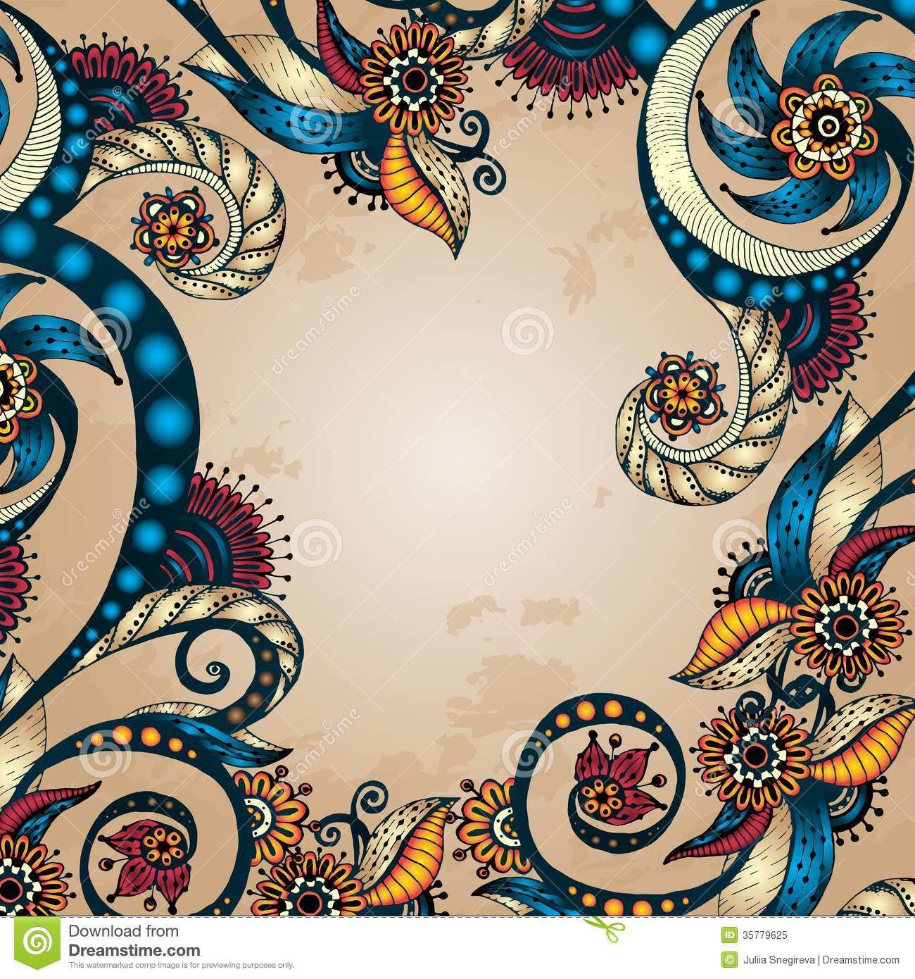 Abstract Floral Backgrounds For Your Design Vector abstract floral