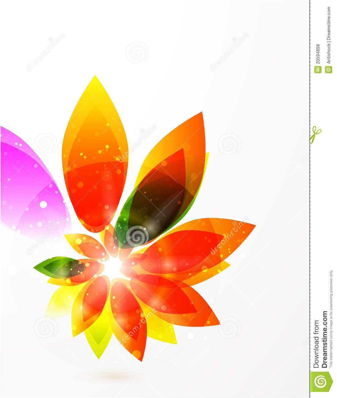 flower girl vector abstract - photo #28