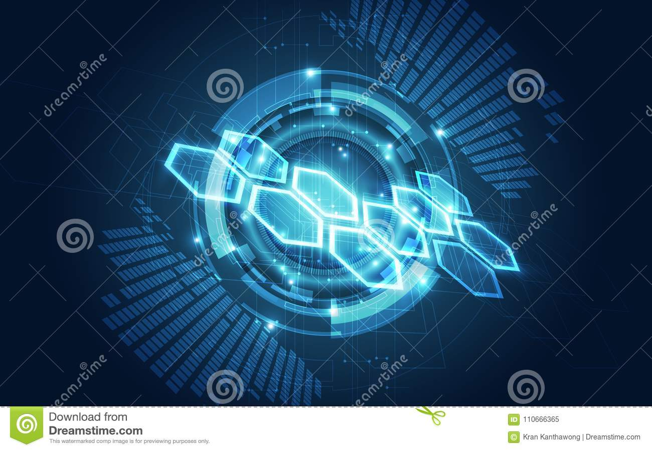 Vector Abstract Futuristic Circuit Board Illustration High Digital Free Stock Photo Hd Public Domain Pictures Technology Blue Color