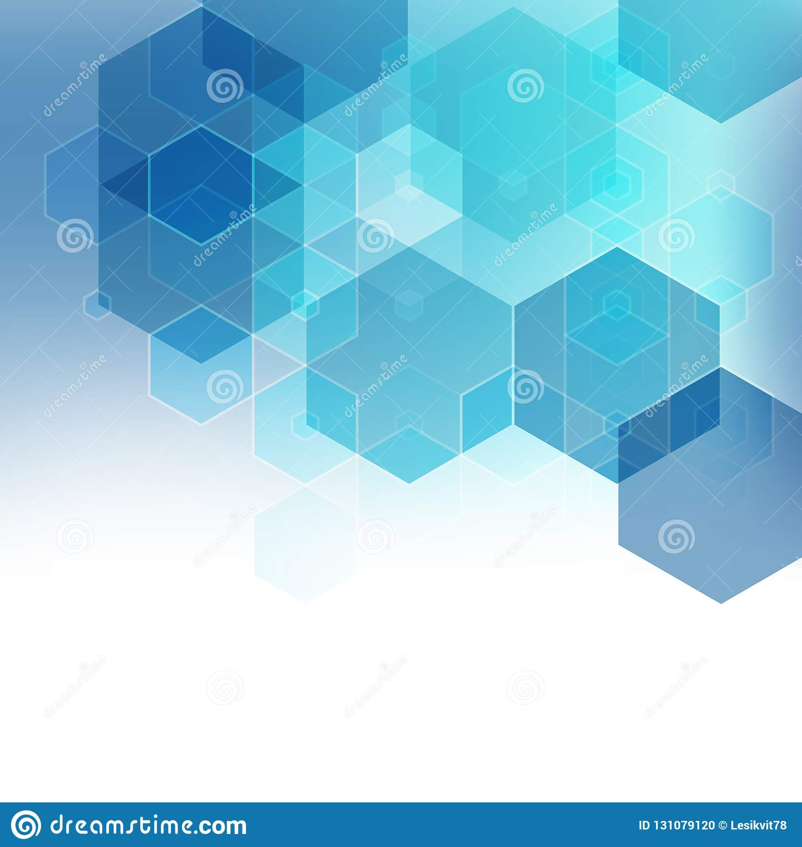Vector Abstract Geometric Background. Template Brochure