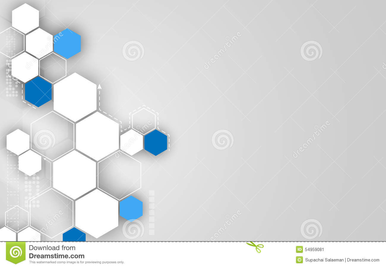 Design Concepts Wallpaper : Vector abstract hexagon technology concept clean design