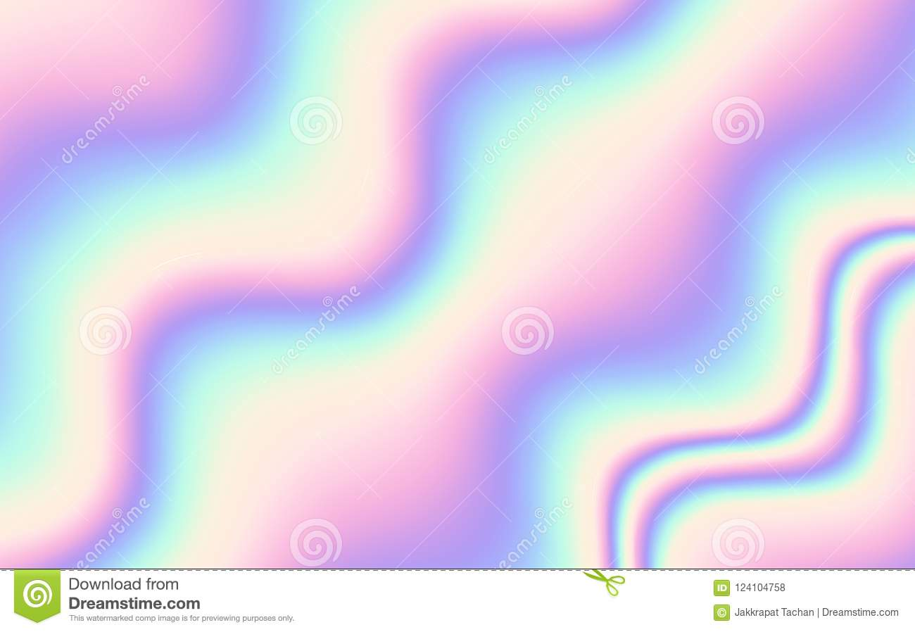 Vector Abstract Holographic Background 80s - 90s, Trendy