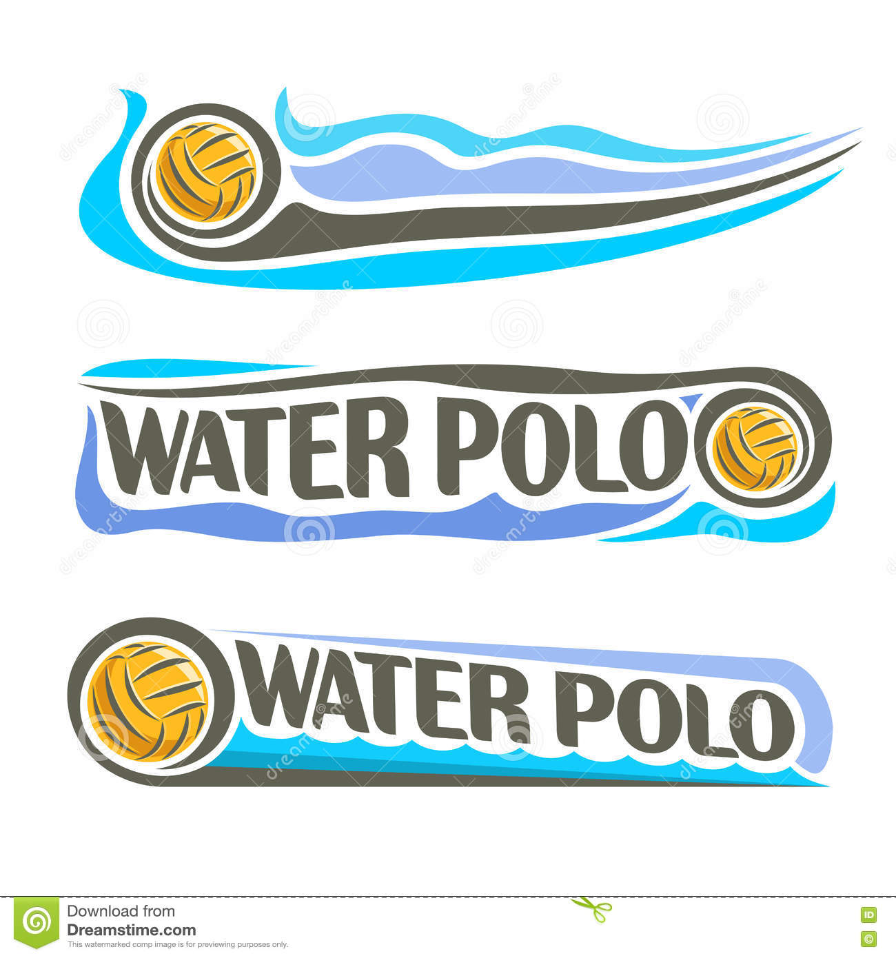 how to draw a water polo ball