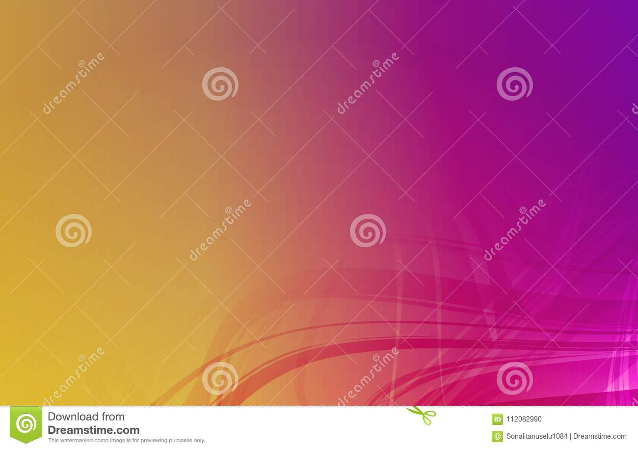 Vector abstract multicolored shaded wavy background with lighting