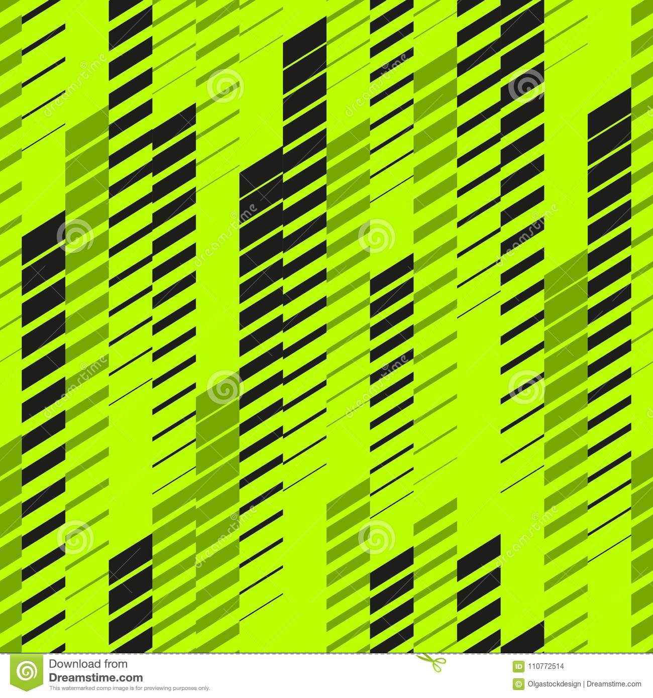 Vector abstract neon sport pattern with fading lines, tracks, halftone stripes. Urban pattern. Neon pattern.