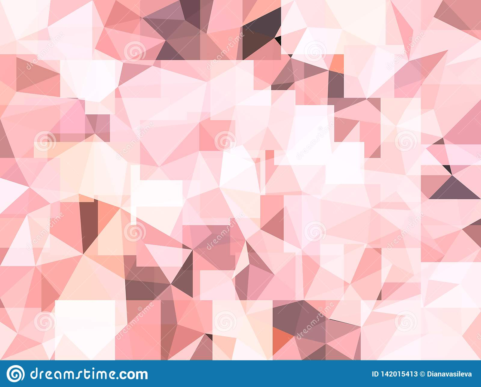 vector abstract pastel pink background shapes triangles vibrant wallpaper low poly style illustration soft fond looks 142015413