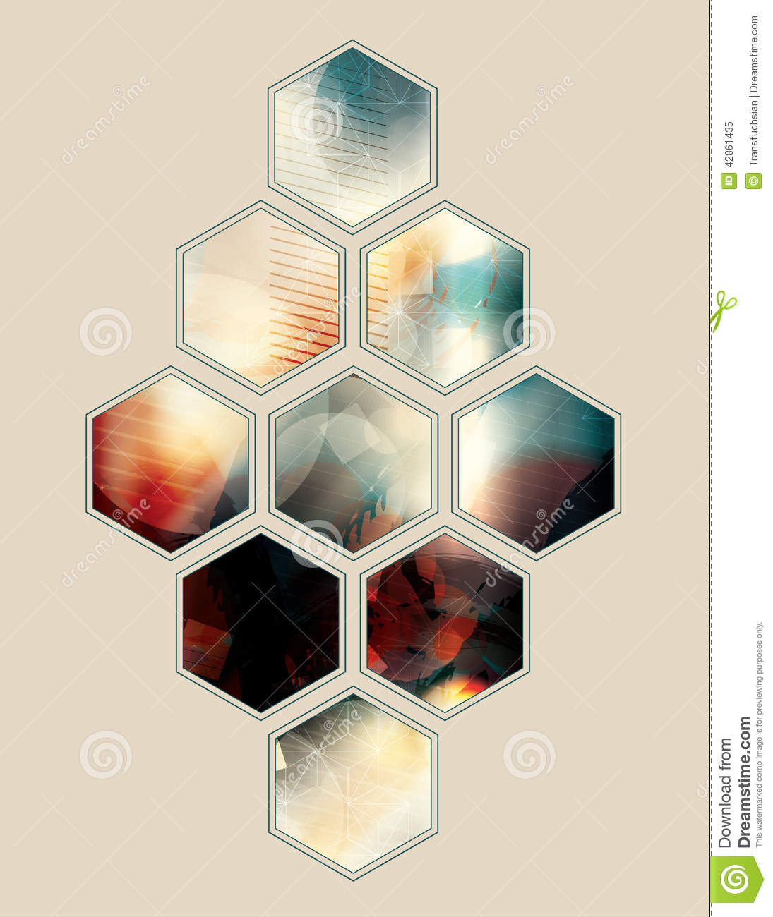 polygon shape abstract design - photo #10