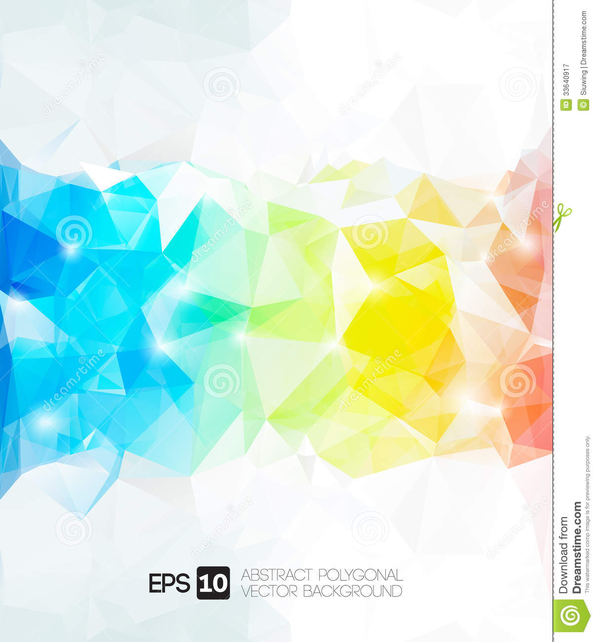 abstract polygonal colorful background - photo #30