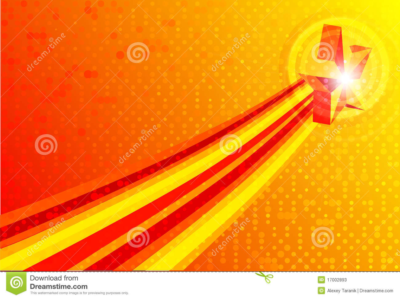 Vector Abstract red yellow backgrounds
