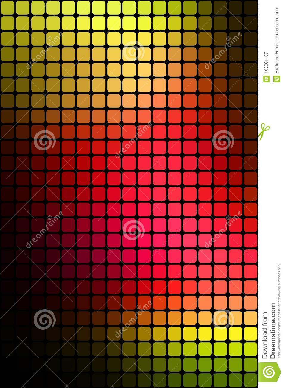 Abstract Mosaic Background Stock Vector Illustration Of