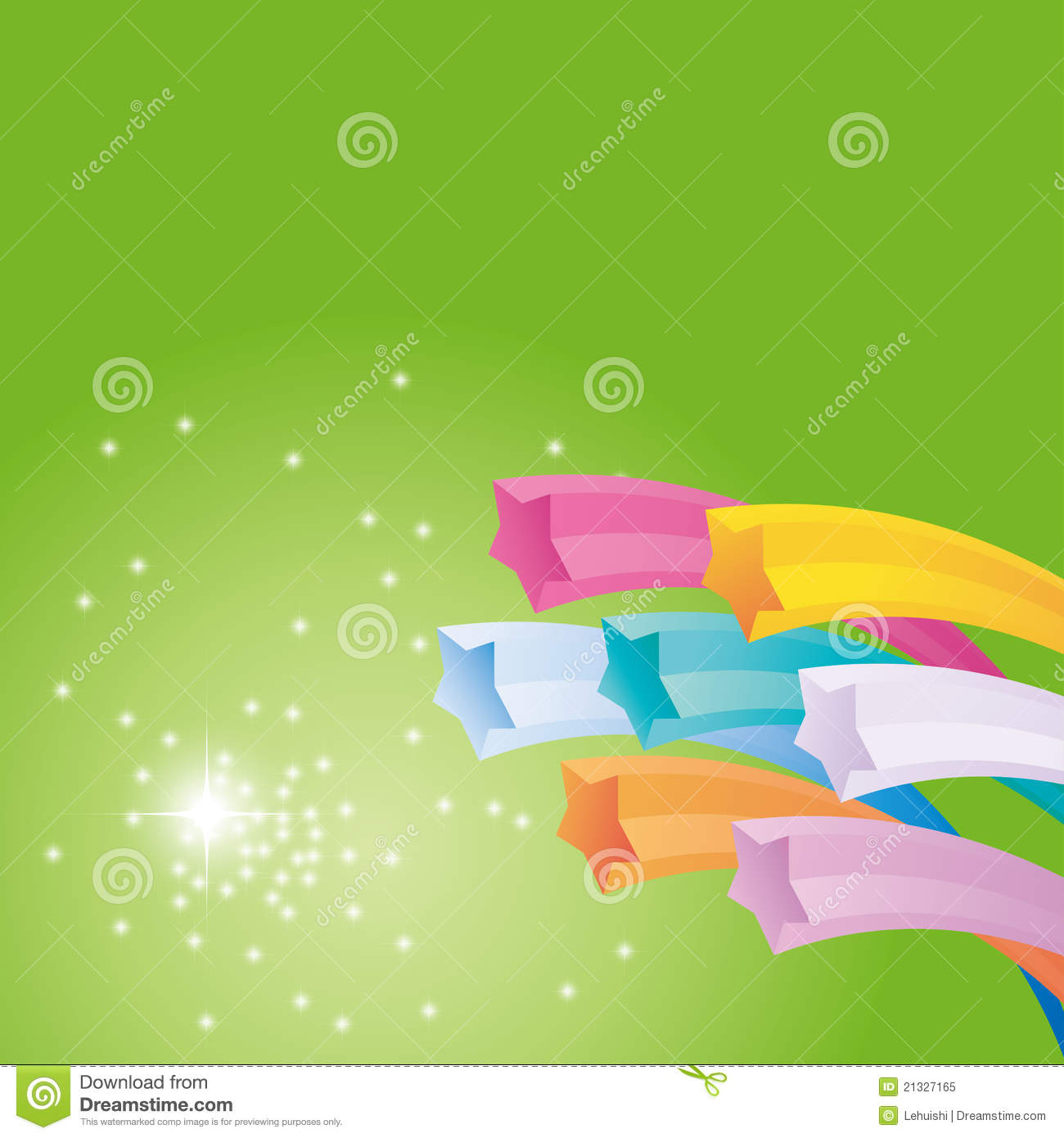 Vector Abstract Star Cover Background Royalty Free Stock