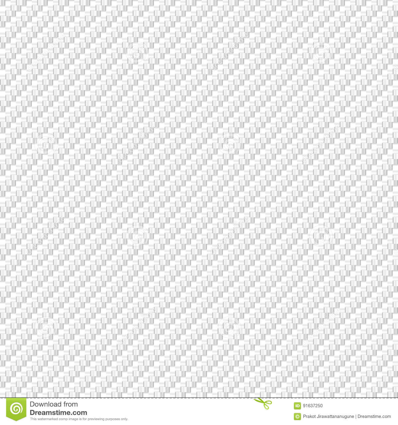 vector abstract white carbon fiber material texture