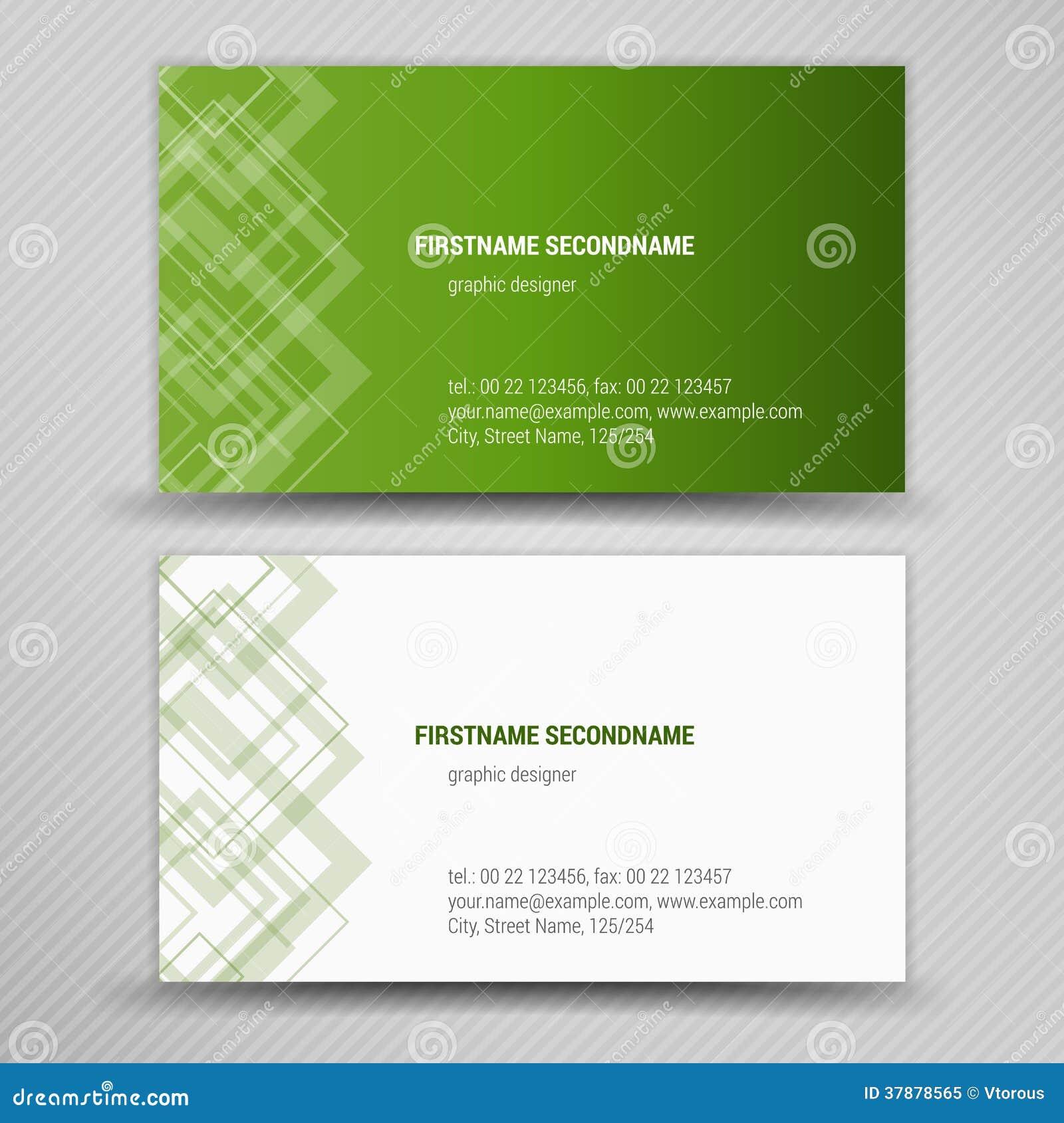 Vector abstracte creatieve adreskaartjes