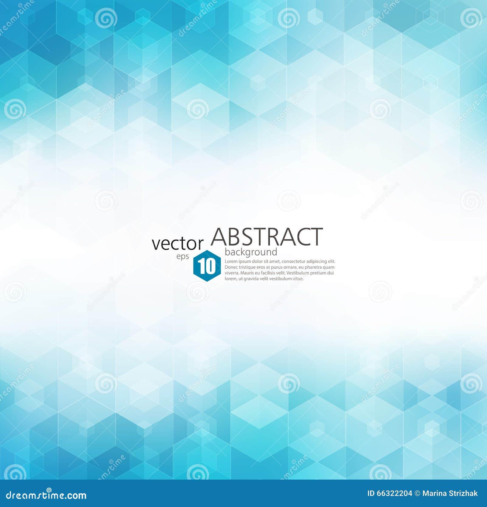 Vector Abstracte geometrische achtergrond Het ontwerp van de malplaatjebrochure