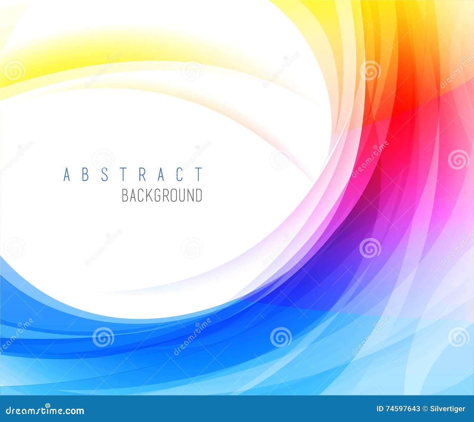 Vector abstracto de los fondos coloridos