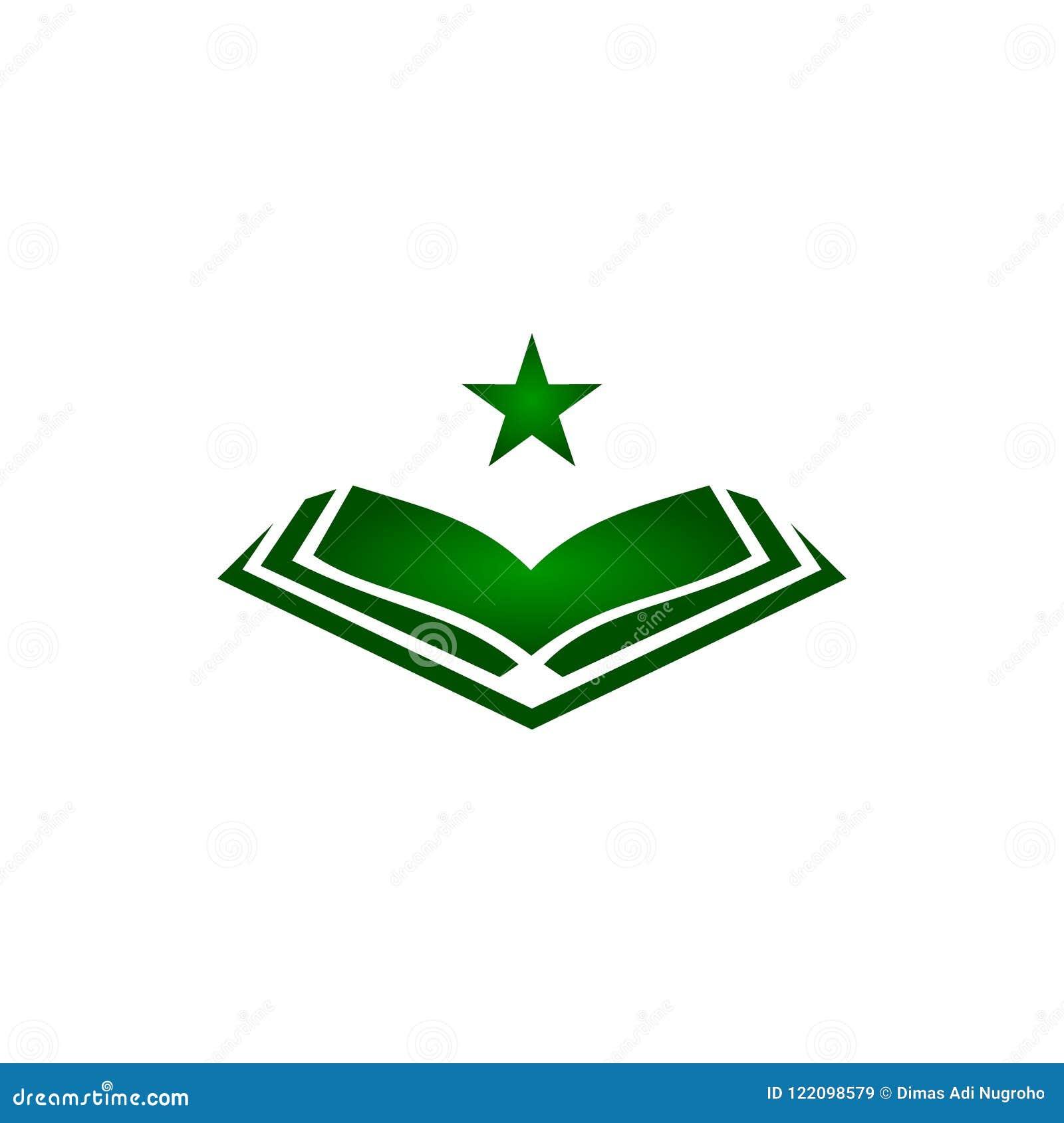Quran Logo Vector Gambar Islami
