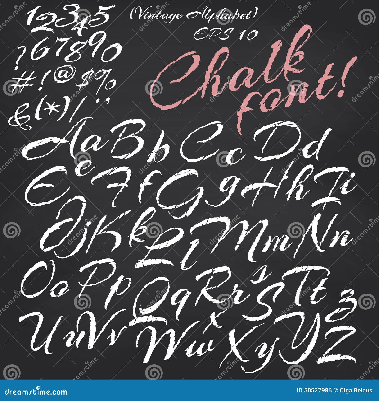 Lettering For Chalk Writing On Bottle