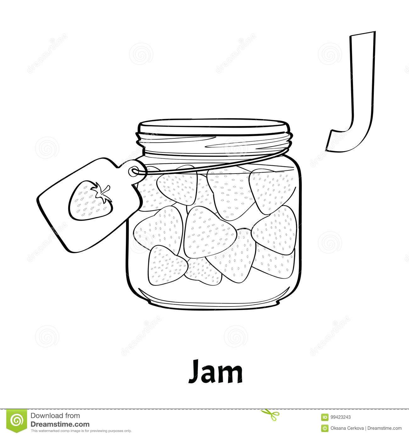 jam coloring pages for kids - photo#30