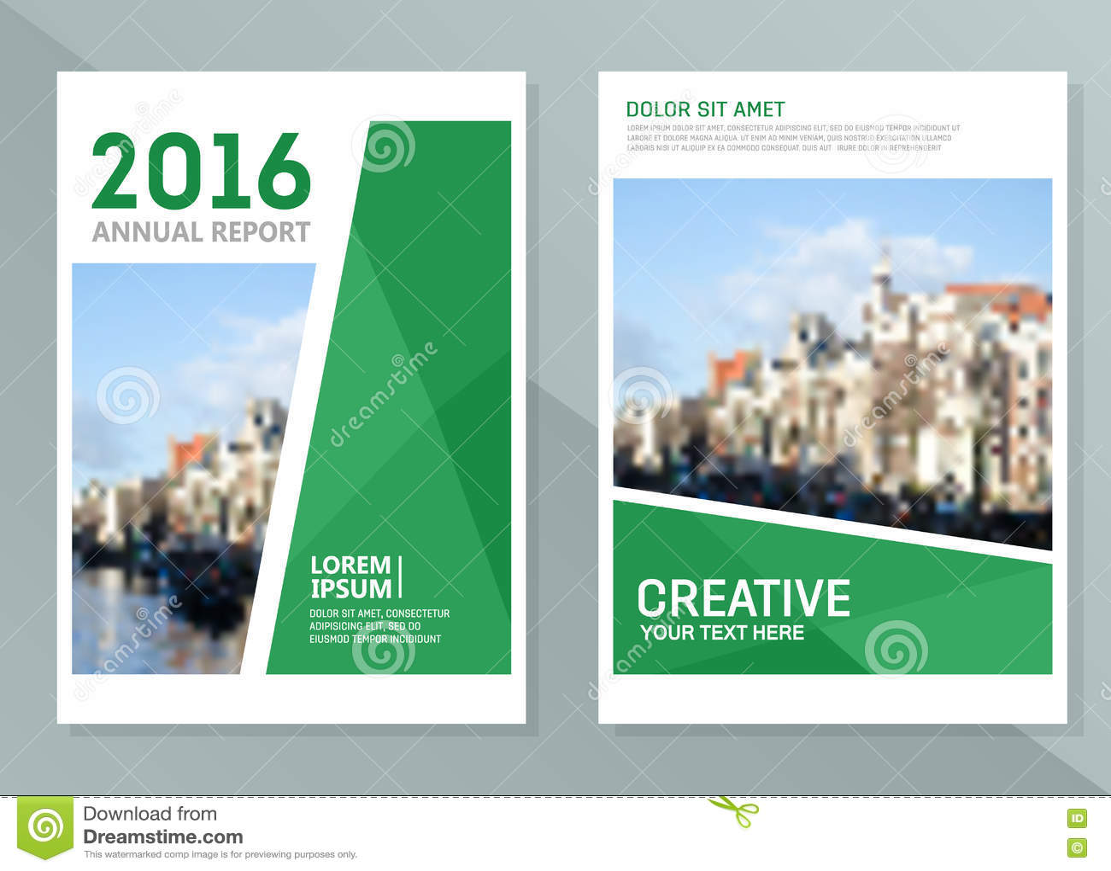 company report design
