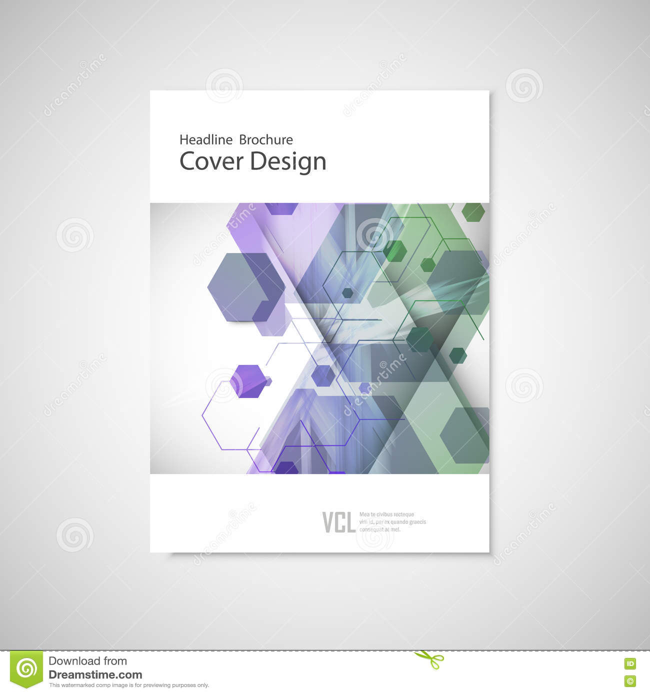 Creative Book Cover Design Eps : Vector annual report leaflet brochure flyer template