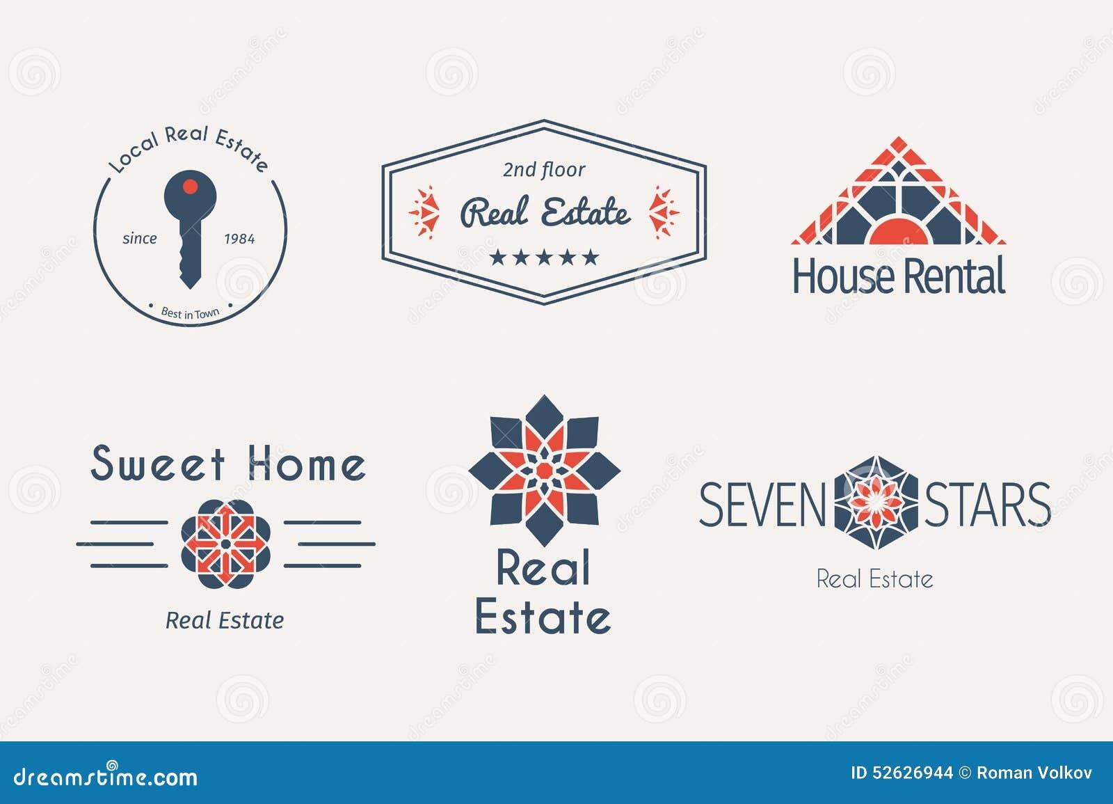 Vector asian logo templates stock vector image 52626944 for Apartment logo design