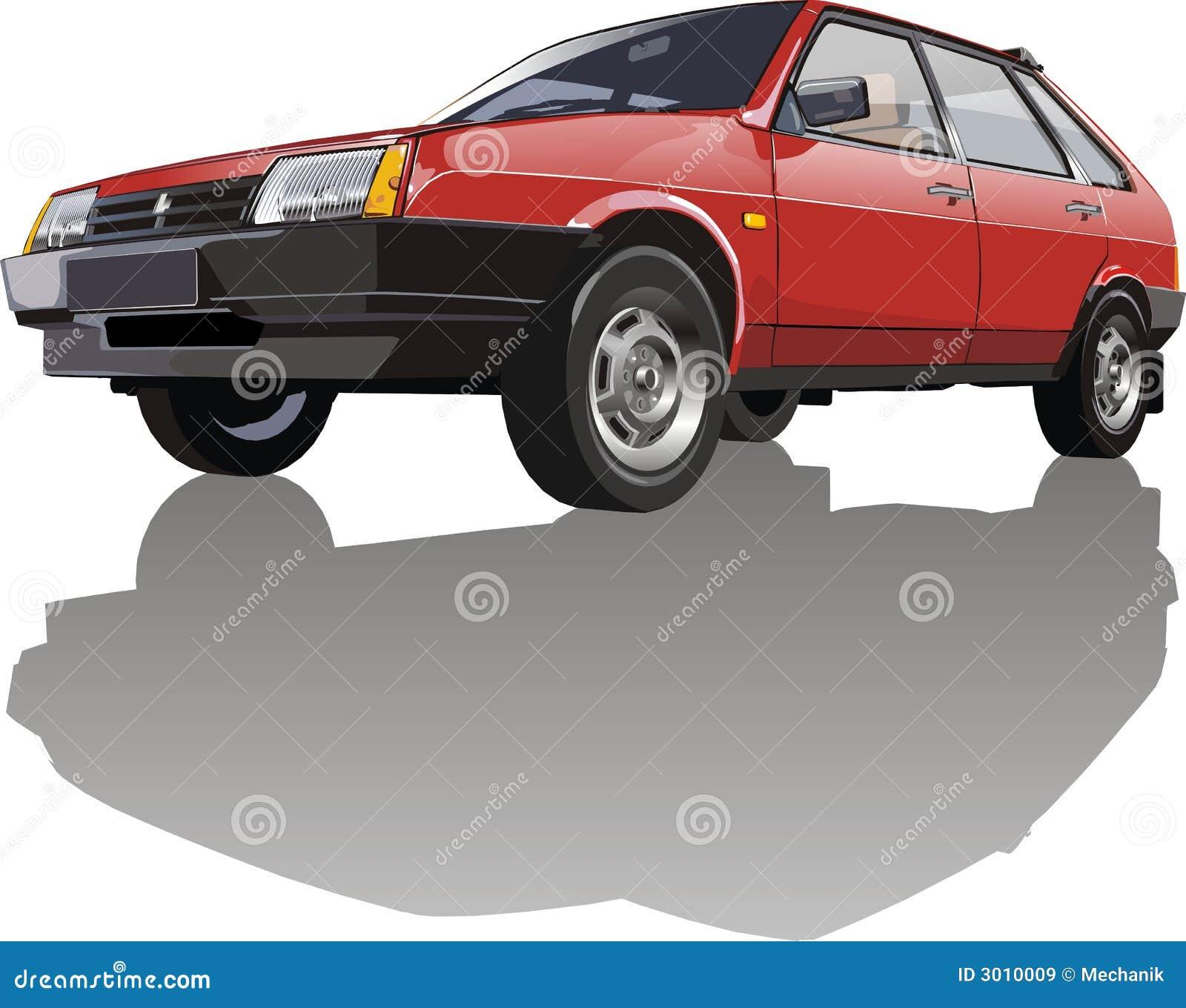 Vector auto Lada