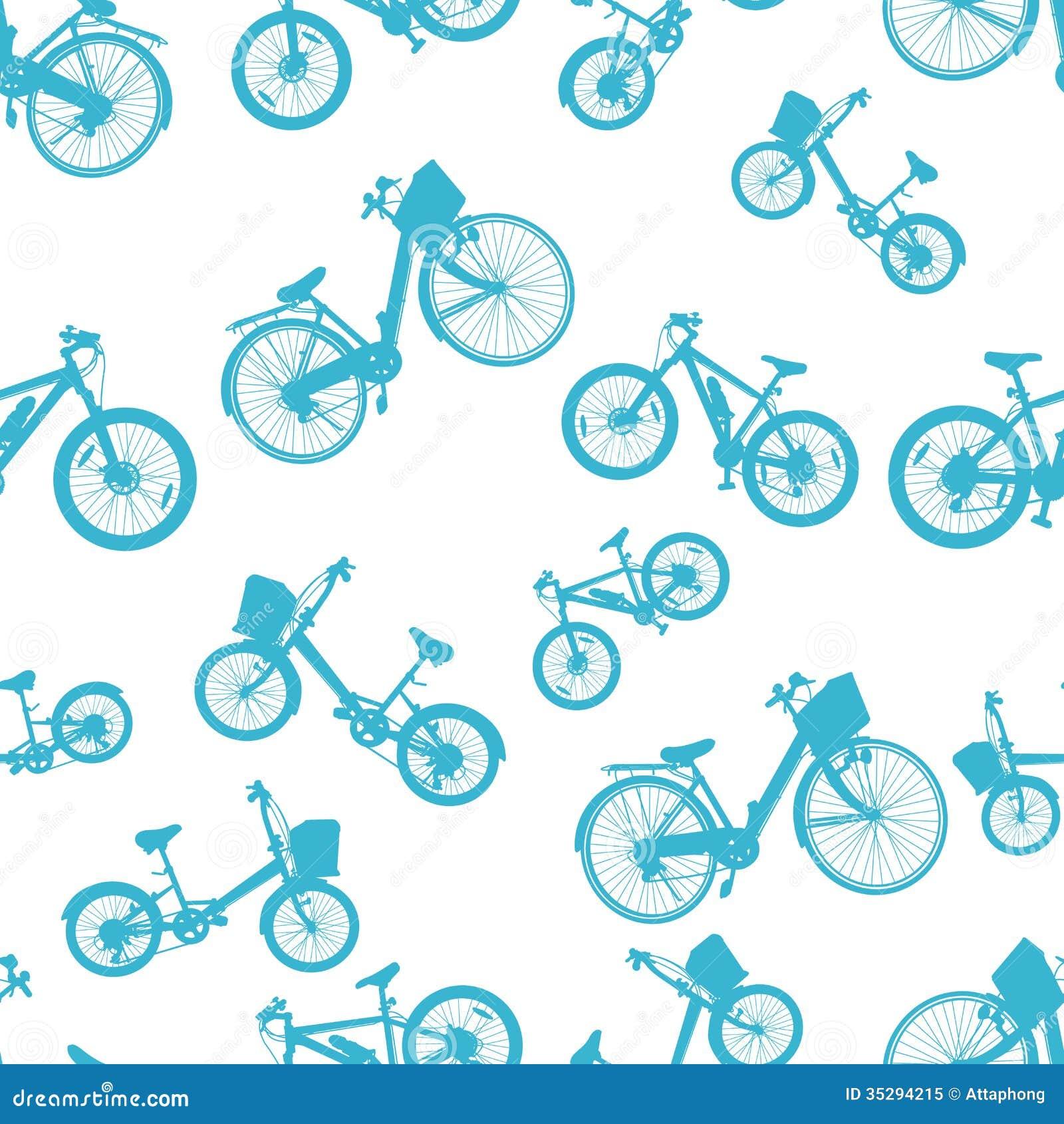 Vector azul incons til de la bici de la bicicleta - La bici azul ...