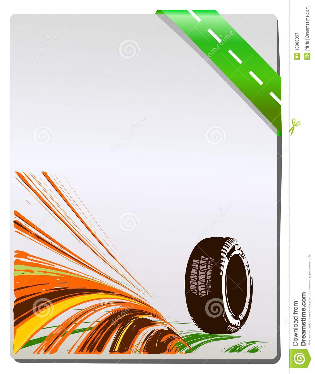 Vector Background Of Car Design Stock Vector Image 10886337