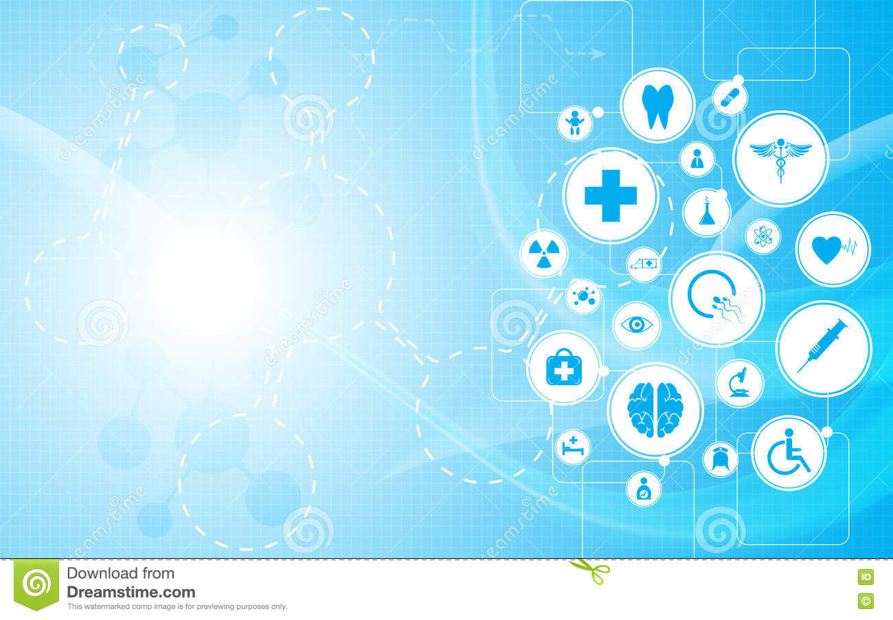 Medical Health Care Logo On Rectangle Abstract Design ...