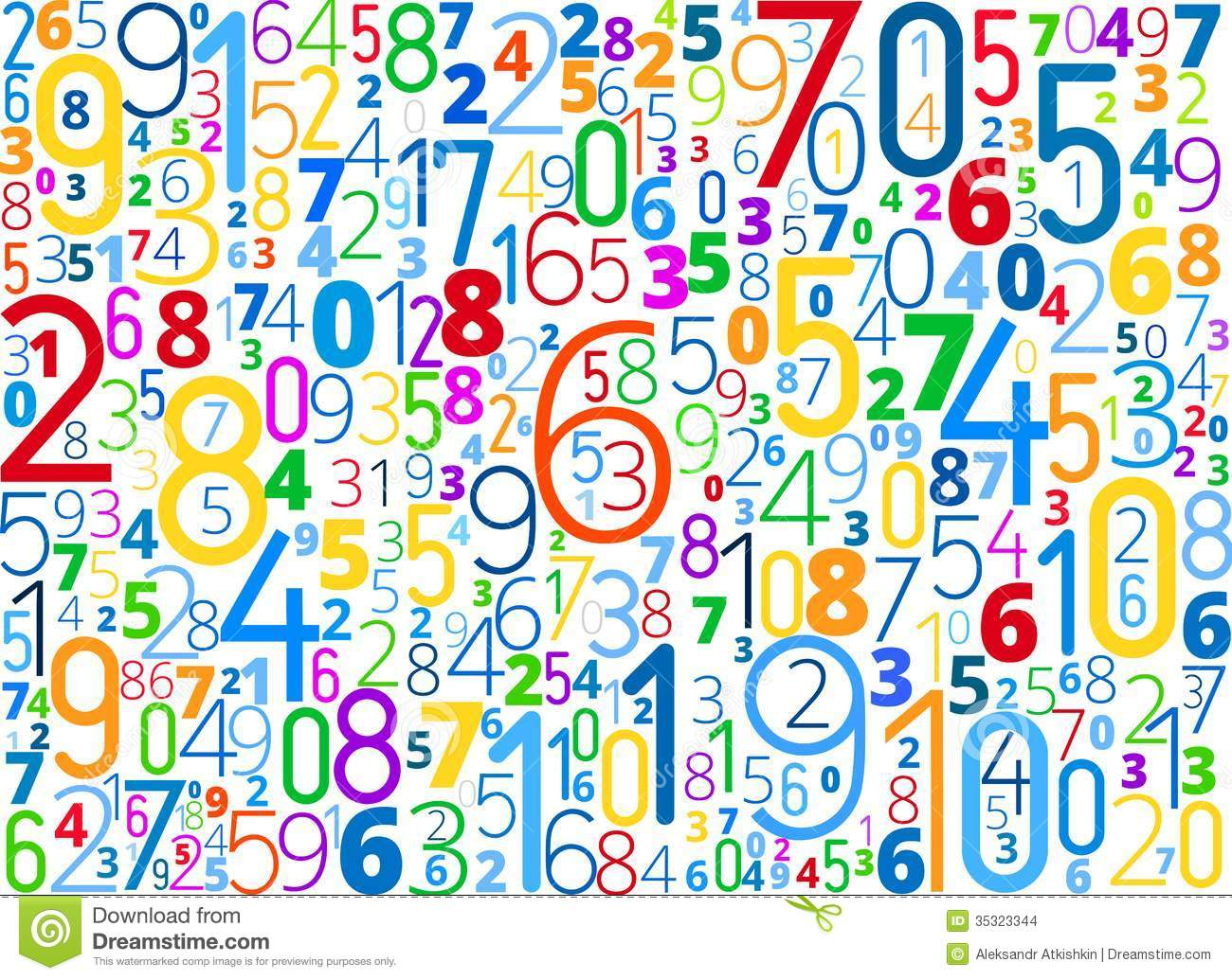 numbers wallpaper clipart wwwimgkidcom the image kid