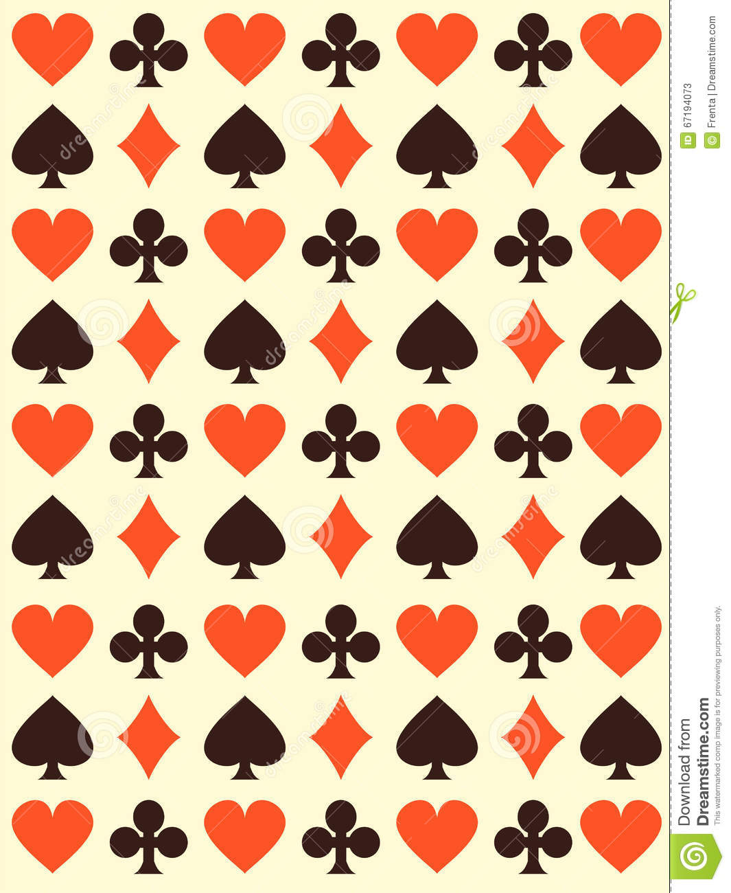 Vector background with playing cards symbols stock vector vector background with playing cards symbols biocorpaavc